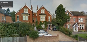 Shortlands Road, image from Google street view 2014