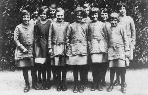 Junior pupils c.1920s