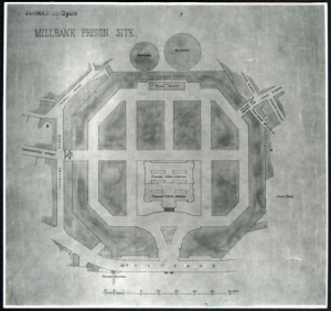 Drawing of the Prison Site at Millbank Tate Archive Photograph Collection http://www.tate.org.uk