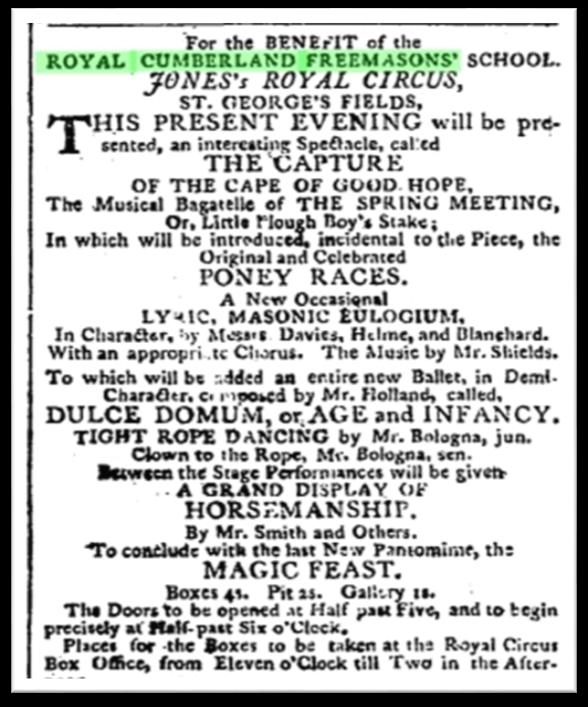 Morning Post and Fashionable World, Saturday, May 21, 1796