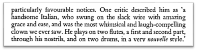 From Joe Grimaldi, His Life and Theatre by Richard Findlater