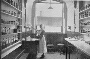The dispensary at Clapham