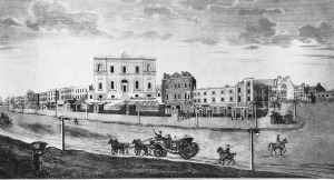 The school at St George's Fields, Southwark