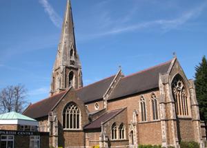 Weybridge church