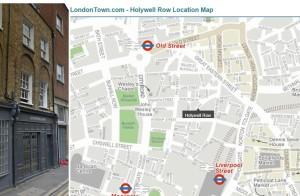 Holywell map