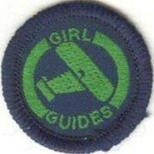 early Guide badge